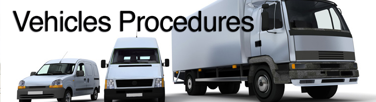 vehicles procedures