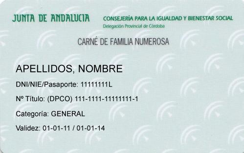 trámites con la Junta de Andalucía